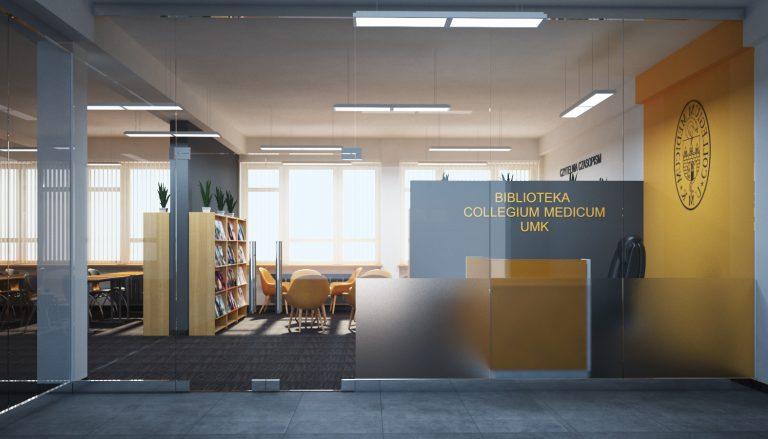 Projekt adaptacji piętra na Bibliotekę