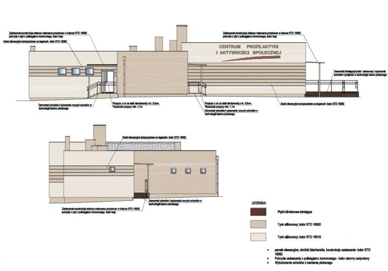 Projekt termomodernizacji budynku użyteczności publicznej